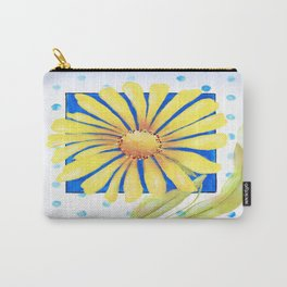 Huge Yellow Daisey Carry-All Pouch