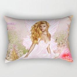 Pink Opal Rectangular Pillow