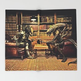 Alien V Predator Throw Blanket