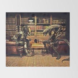 Alien V Predator Throw Blanket
