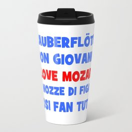 I love Mozart Travel Mug