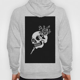 Tattoos style skull and flower Hoody