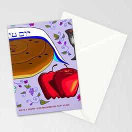 Rosh Ha'Shanah, Happy and Prosperous New Year Stationery Cards