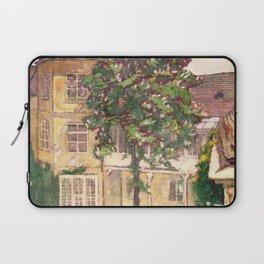 "Koloman (Kolo) Moser ""Flowering chestnut tree"" Laptop Sleeve"