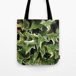 Variegated Ivy Tote Bag