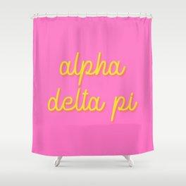 ad pi Shower Curtain