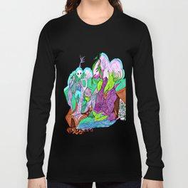 Fractal Landscape Long Sleeve T-shirt