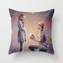 PB and J Throw Pillow