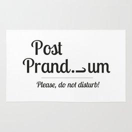 Post prandium Rug