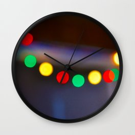 Deck the Hall Wall Clock