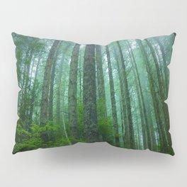 Misty Mountain Forest Pillow Sham