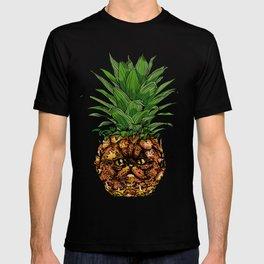 Pineapple Persian Cat T-shirt
