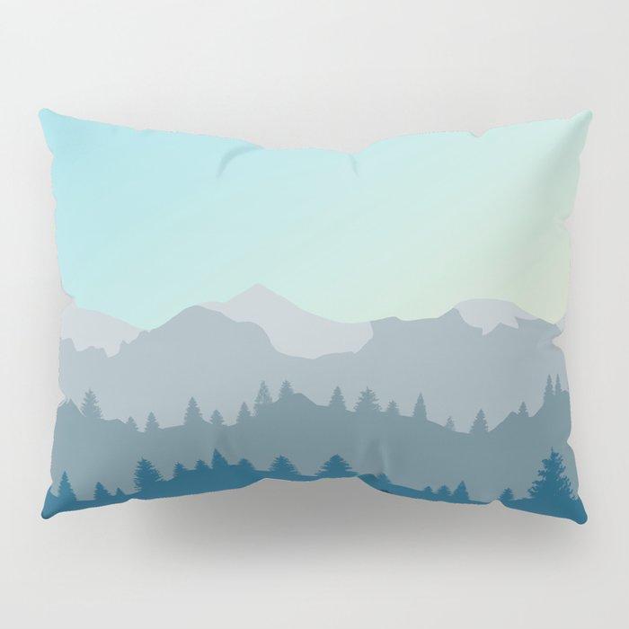 Face This Mountain (No Text) Pillow Sham