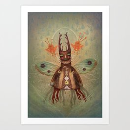 Bow Your Heads and Pray (For The Prey) Art Print