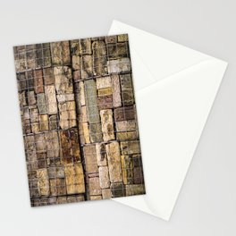 Caged Stones Stationery Cards