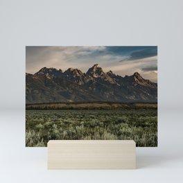 Teton Morning Mini Art Print