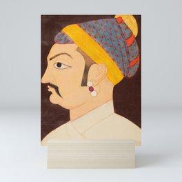 Rao Shiv Singh Chandrawat - Vintage Art Print Mini Art Print