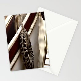 Old fishing boat detail Stationery Cards