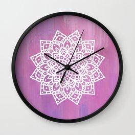 Metanioa Mandala Wall Clock