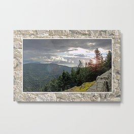 VIEW FROM MOUNT CONSTITUTION Metal Print