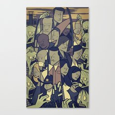 The Walking Dead Canvas Print