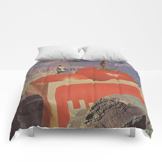 a woman's place Comforters