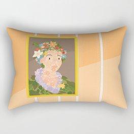 Flora by  Giuseppe Arcimboldo Rectangular Pillow