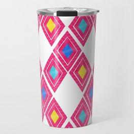 Chiapas Pattern - Pink Travel Mug