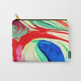 Abstract Lily Carry-All Pouch