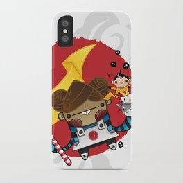 Chestnut + Kiiroihankachi cause we will not forget!!! iPhone Case