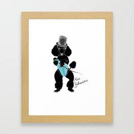 Miss Behaviour Framed Art Print