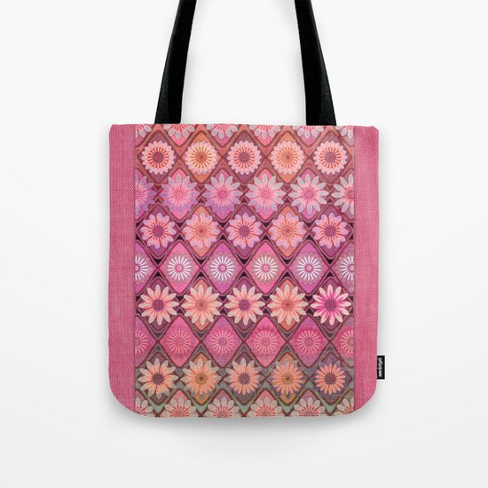 Daisy Pinks Tote Bag