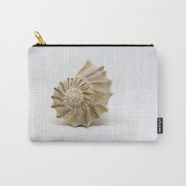 Lightning Whelk Seashell Carry-All Pouch