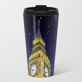 London Big Ben Full of Stars Travel Mug