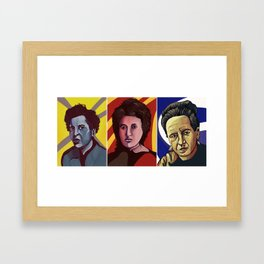 arendt  Luxemburg Beauvoir Framed Art Print