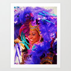Smile with Love Art Print