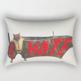 Love Hate Bat Rectangular Pillow