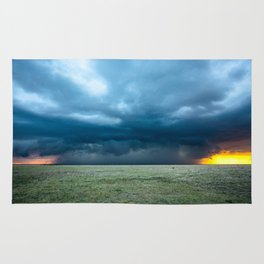Regeneration - Storm Strengthens With Amazing Color in Texas Rug