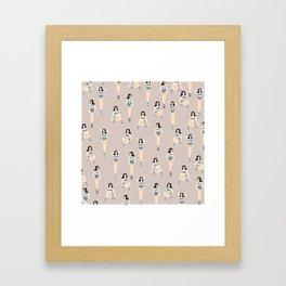 Queen D Framed Art Print