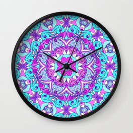 Drawing Floral Doodle G5 Wall Clock
