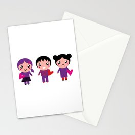 New valentine EMO characters Stationery Cards