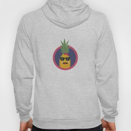 Cool pineapple with sunglasses Hoody