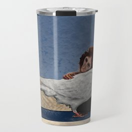 The conception of love and peace Travel Mug
