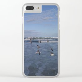 Taking Flight Clear iPhone Case