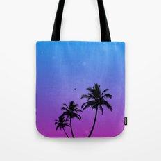 Neon Nights Tote Bag