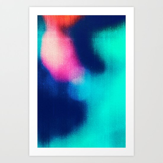 BLUR / miracle Art Print