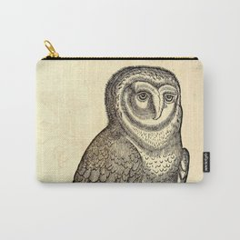 Antique Barn Owl Carry-All Pouch