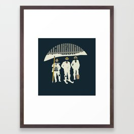Urban Fae — Alley Scallywags Framed Art Print