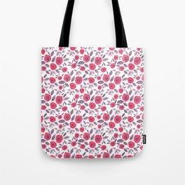 Pink & Purple Blooms Tote Bag