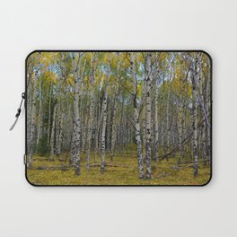 Trembling Aspen's in the Fall, Jasper National Park Laptop Sleeve
